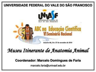 UNIVERSIDADE FEDERAL DO VALE DO SÃO FRANCISCO