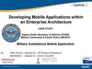 Developing Mobile Applications within an Enterprise Architecture