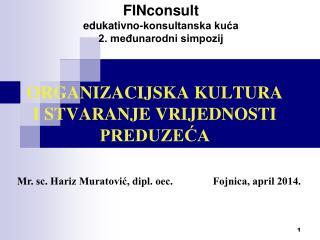 FINconsult edukativno-konsultanska kuća 2. međunarodni simpozij