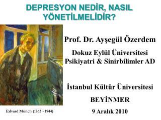 DEPRESYON NEDIR, NASIL Y NETILMELIDIR