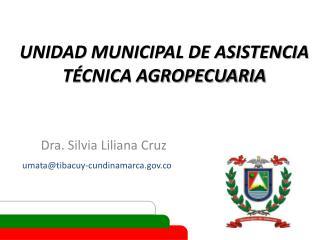 UNIDAD MUNICIPAL DE ASISTENCIA TÉCNICA AGROPECUARIA