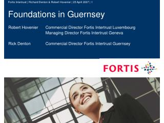 Foundations in Guernsey
