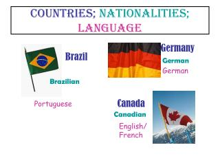COUNTRIES; NATIONALITIES; LANGUAGE