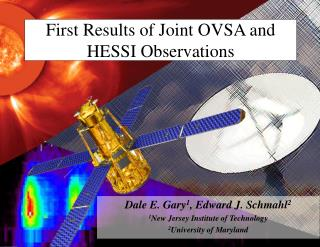 First Results of Joint OVSA and HESSI Observations