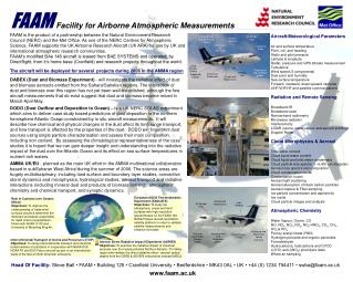 Facility for Airborne Atmospheric Measurements