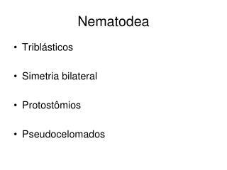 Nematodea