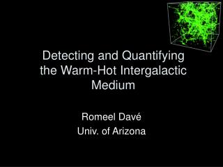Detecting and Quantifying the Warm-Hot Intergalactic Medium