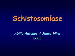 Schistosom�ase