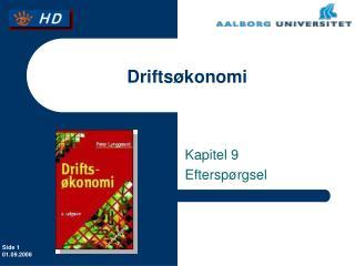 Drifts�konomi