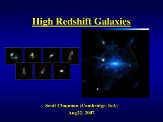 High Redshift Galaxies