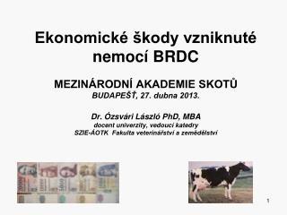 Na farmách chovu zvířat, jako v podnikání  je hlavním cílem  zvýšení ekonomického zisku!