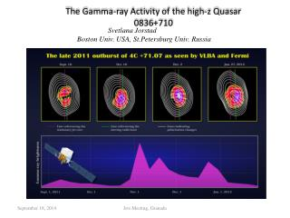 The Gamma-ray Activity of the high- z  Quasar 0836+710