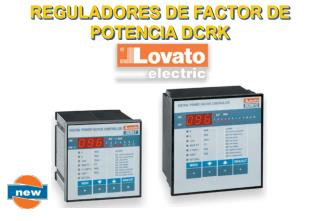 REGULADORES DE FACTOR DE POTENCIA DCRK