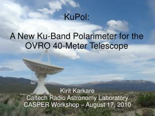 KuPol: A New Ku-Band Polarimeter for the OVRO 40-Meter Telescope