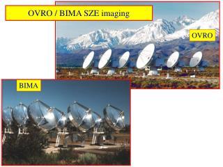 OVRO / BIMA SZE imaging
