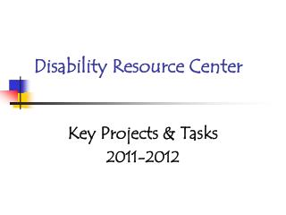 Disability Resource Center