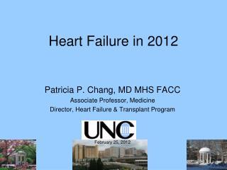 Patricia P. Chang, MD MHS FACC Associate Professor, Medicine