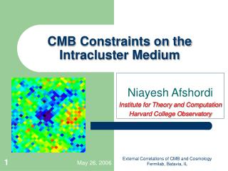 CMB Constraints on the Intracluster Medium