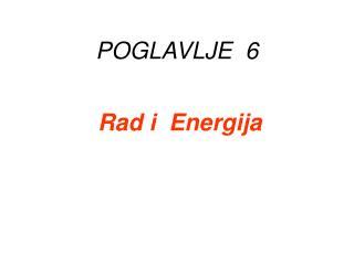 POGLAVLJE   6