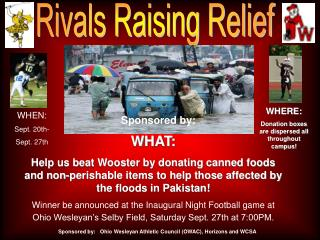 Rivals Raising Relief