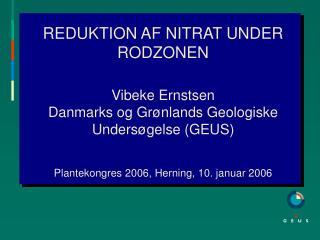 Indhold: Nitratreduktion og vandmiljøet  Processen/processerne