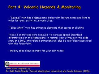 Part 4: Volcanic Hazards & Monitoring