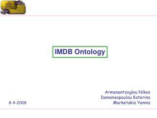 IMDB Ontology
