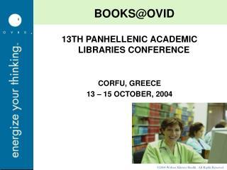 BOOKS@OVID