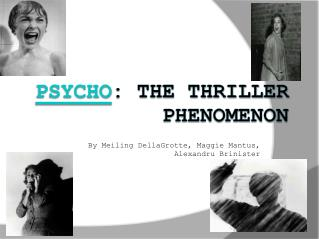 Psycho : The Thriller Phenomenon