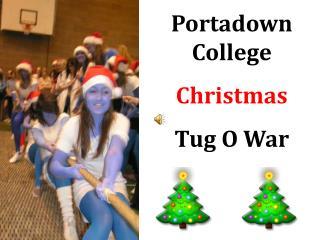 Portadown College Christmas Tug O War