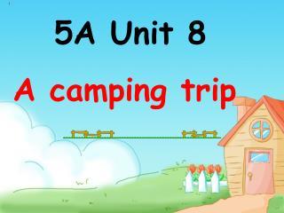 5A Unit 8 A camping trip