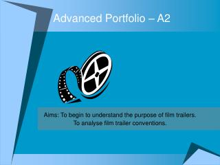 Advanced Portfolio – A2