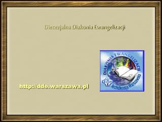 Diecezjalna Diakonia Ewangelizacji