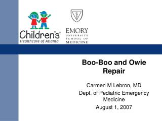 Boo-Boo and Owie Repair