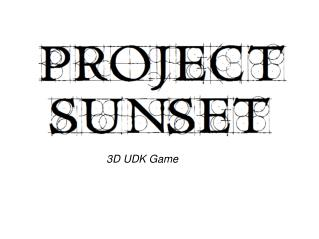 3D UDK Game