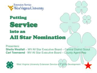 Putting Service into an All Star Nomination