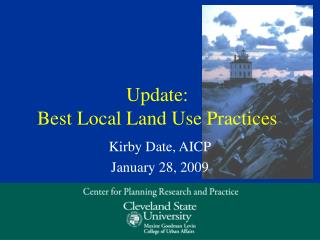 Update: Best Local Land Use Practices