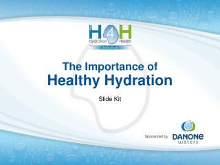 The Importance of Healthy Hydration