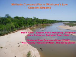 Methods Comparability in Oklahoma's Low Gradient Streams