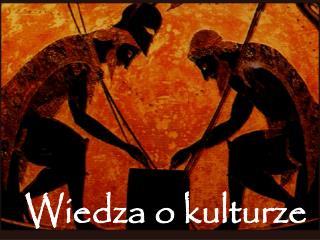 Wiedza o kulturze