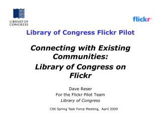 Library of Congress Flickr Pilot