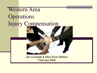 Western Area  Operations  Injury Compensation