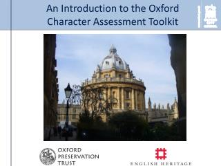 An Introduction to the Oxford Character Assessment Toolkit