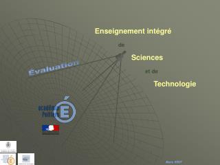 Enseignement intégré  de                    Sciences                                   et de