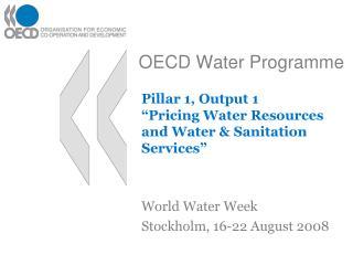 OECD Water Programme