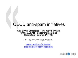 OECD anti-spam initiatives