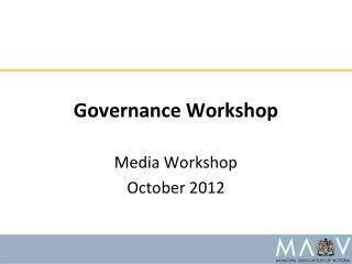 Governance Workshop