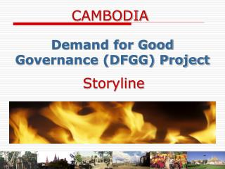 Demand for Good Governance (DFGG) Project