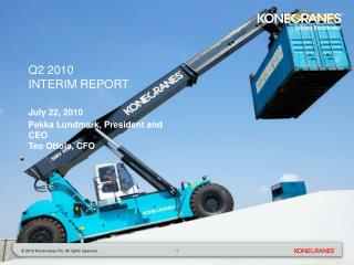 Q2 2010 interim report