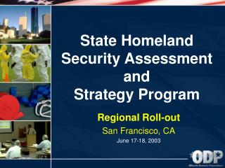 State Homeland Security Assessment and Strategy Program